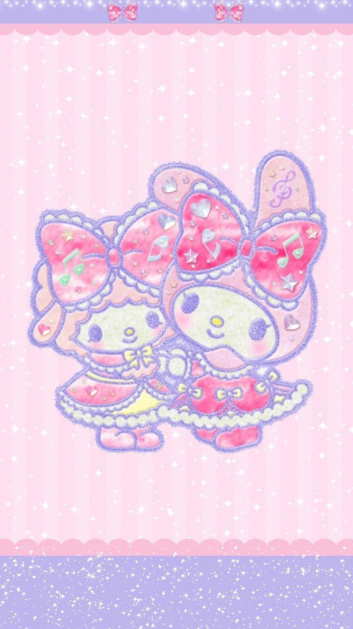 Hello Kitty Piano My Melody Amp Wallpaper Sanrio Kawaii Iphone
