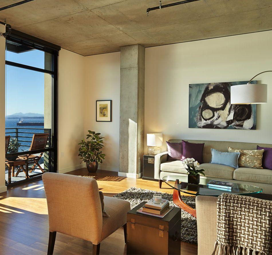 Loft Living | Joseph Arnold Lofts: Downtown Seattle Luxury Apartments
