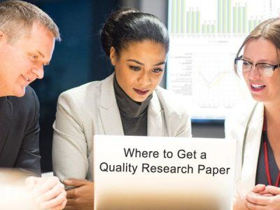 Where to Get a Quality Research Paper