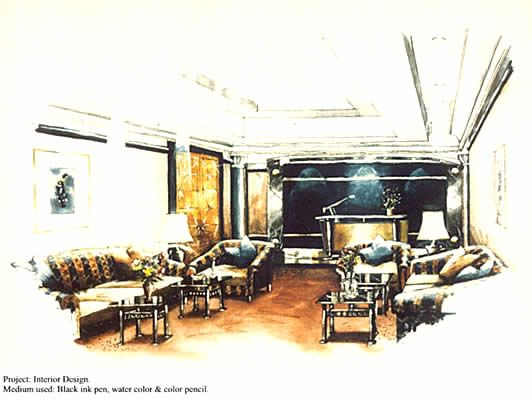 Interior Design Bedroom Sketches interior design sketches - home design ideas