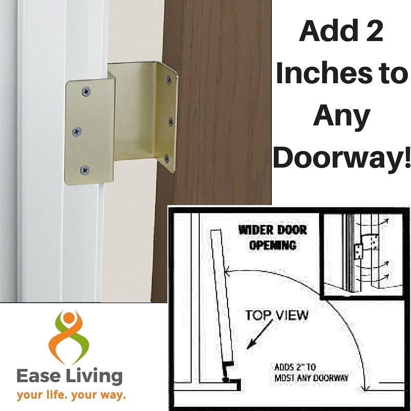 Best 25 offset hinges ideas on pinterest hinges for for 180 degree door swing