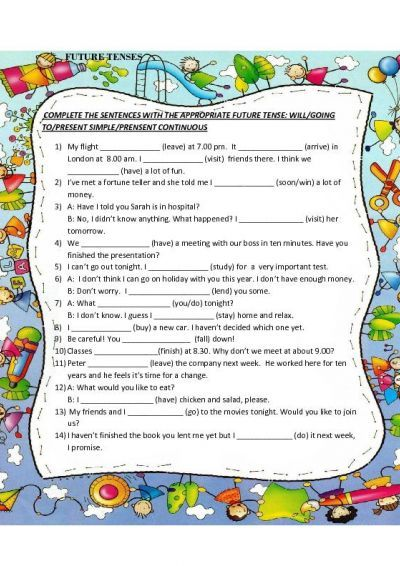 Future Tense Worksheets future tense worksheets 1 | engelsd ...