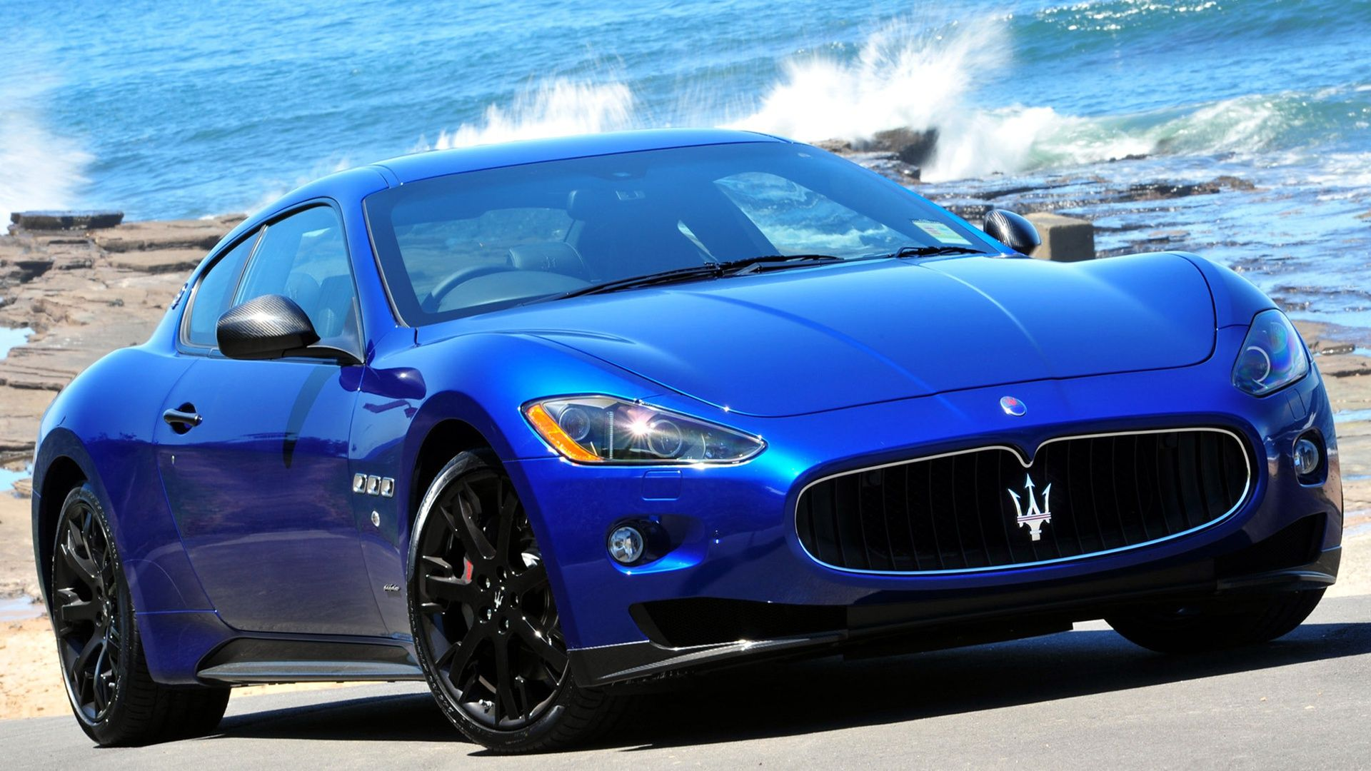 Maserati GranTurismo S MC in blue best pictures hd wallpapers ...