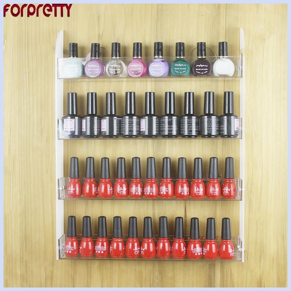 Nail Polish Shelves Forpretty Stand For Gelnagel Repisas Acrilico ...