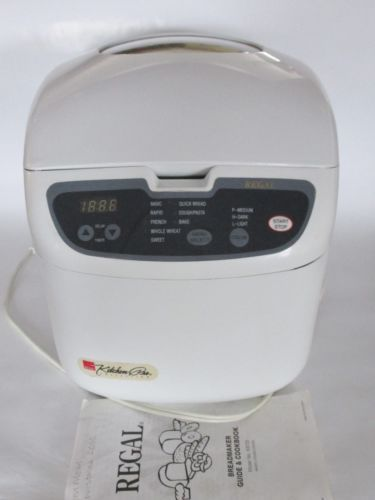 Details About Regal Kitchen Pro Collection Bread Machine