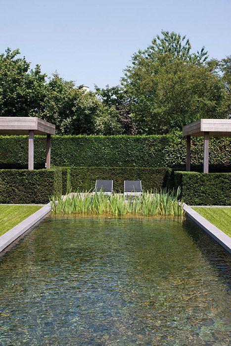4 styles de bassins à copier dans votre jardin | Pond, Water ...