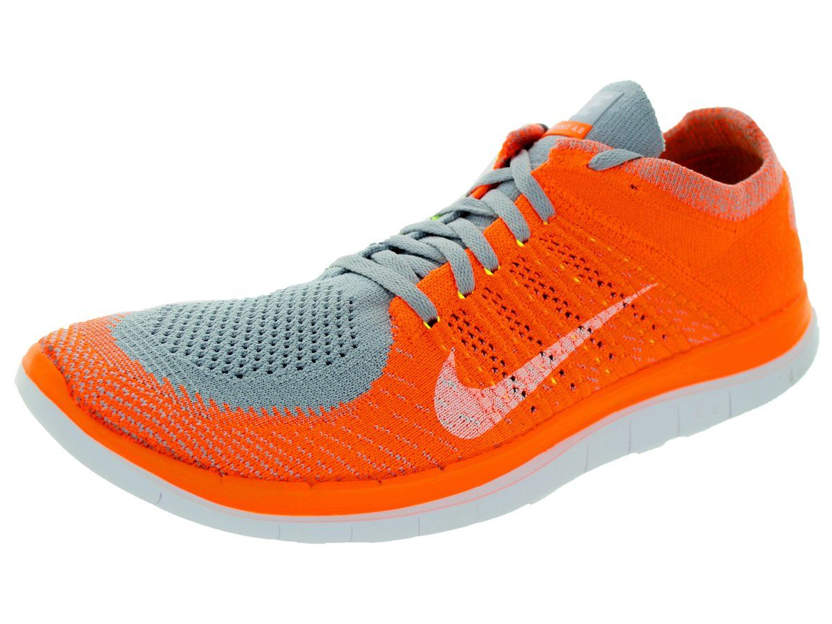 Amazon.com: Nike Mens Free Flyknit 4.0 Running Shoes: Shoes