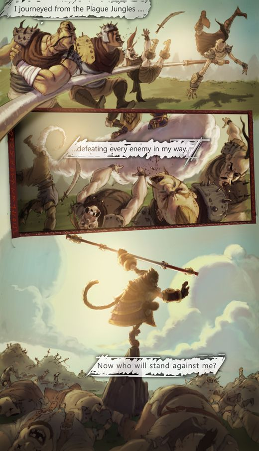 League of Legends Wukong the Monkey King Intro comic
