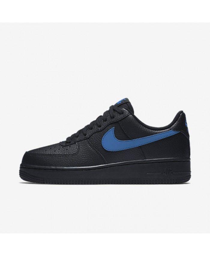 Nike Air Force 1 07 Black Gym Blue AA4083 003 | air force