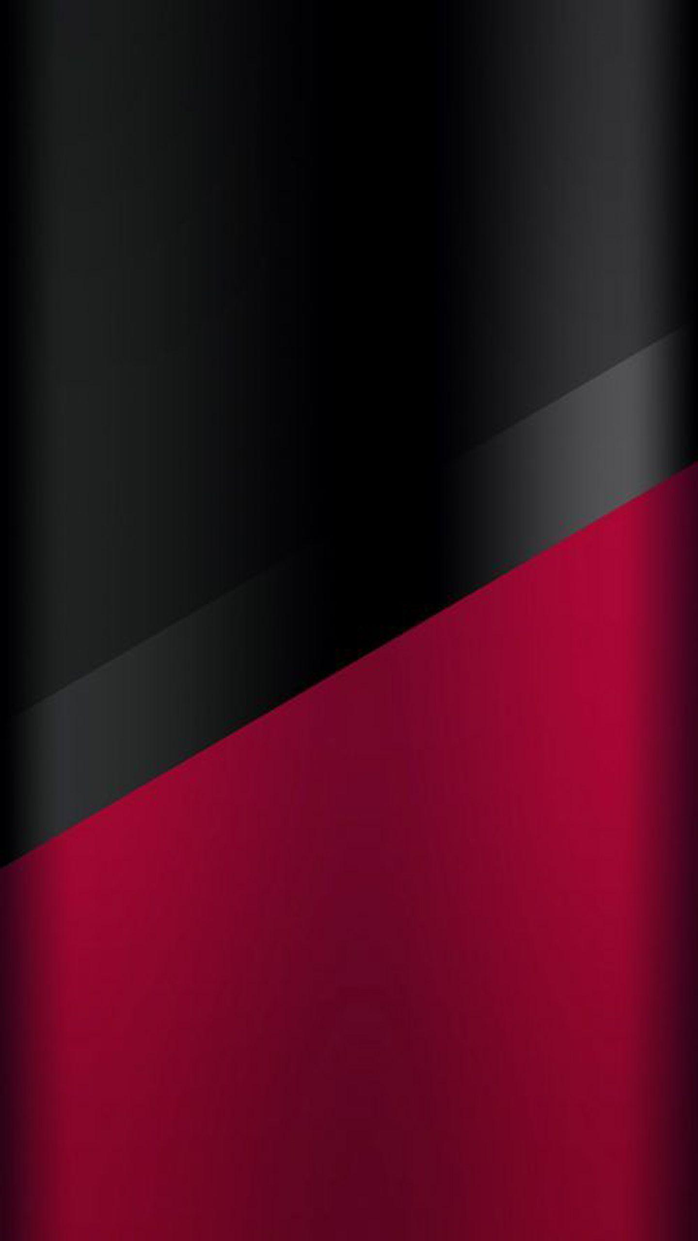 Dark S7 Edge Wallpaper 03 Black and Red Pinterest