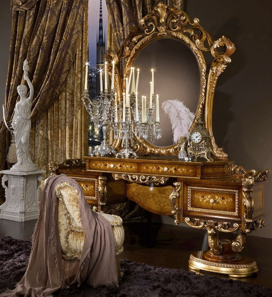 Furniture Masterpieces Vanity Dressing Table for Bedroom