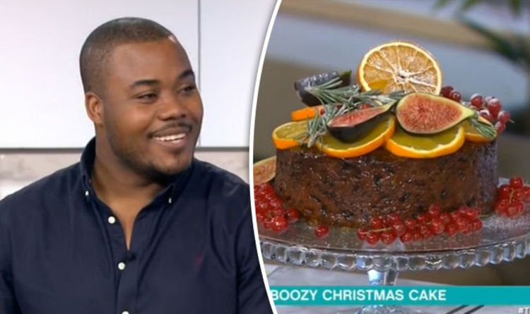 Who else makes their #Christmas #cake fuelled with #rum and can't wait to eat it? Not long to go now. #Countdown http://www.express.co.uk/life-style/food/733766/great-british-bake-off-selasi-christmas-rum-cake-this-morning