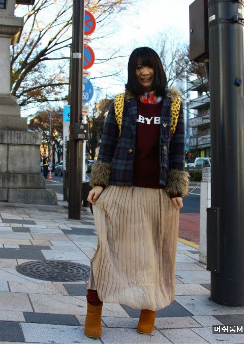 버섯돌이 세상 :: 일본 여자 유행패션을 보니 내년 유행패션 예상되네