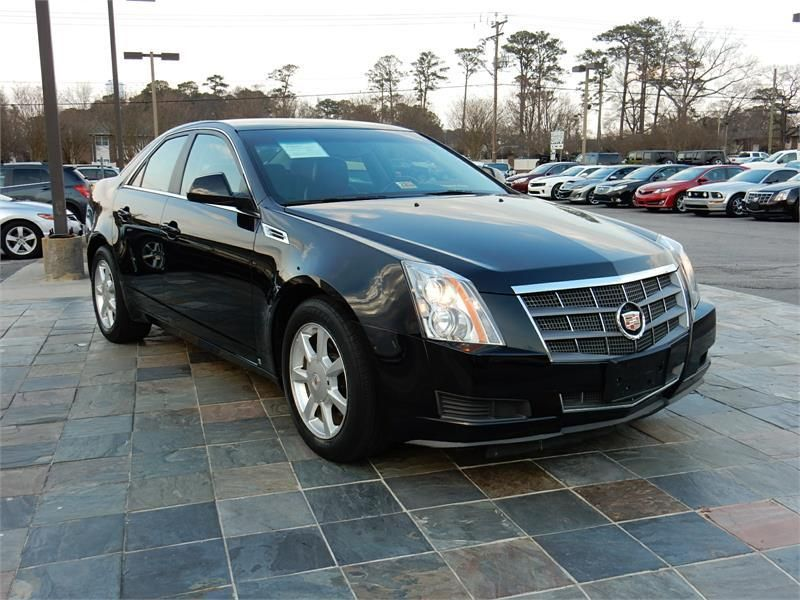 2009 Cadillac Cts 40176 Miles Black Exterior Color With A Blue