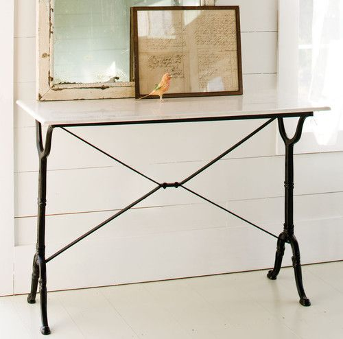 Marble Console Table traditional buffets and sideboards