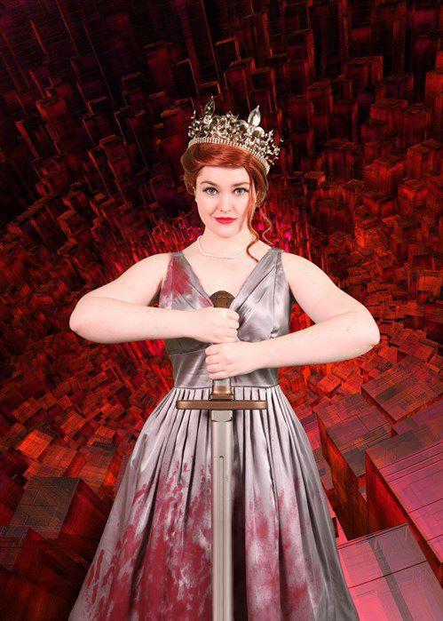Queen Abaddon by Gini33.deviantart.com on @deviantART ...   Abaddon Supernatural Cosplay