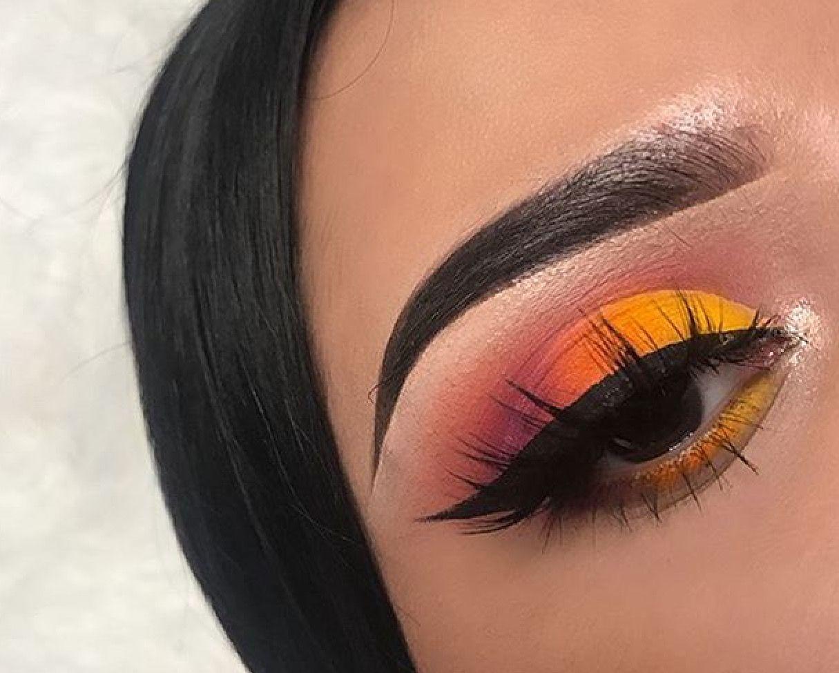 Sunset eyeshadow Pinterest Thatsmarsb