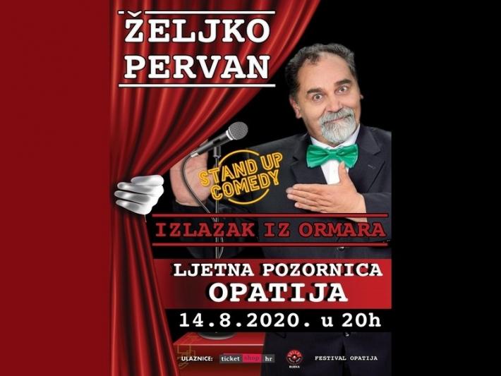 Turisticki Portal Planiraj Com Zeljko Pervan U Opatiji Na Ljetnoj Pozornici In 2020 Broadway Shows Broadway Show Signs Movie Posters