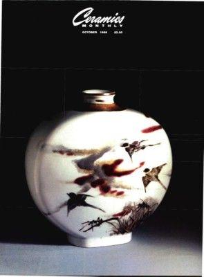 Ceramics Monthly October 1986 Ceramics Monthly Ceramics Monthly Ceramics Ceramic Art