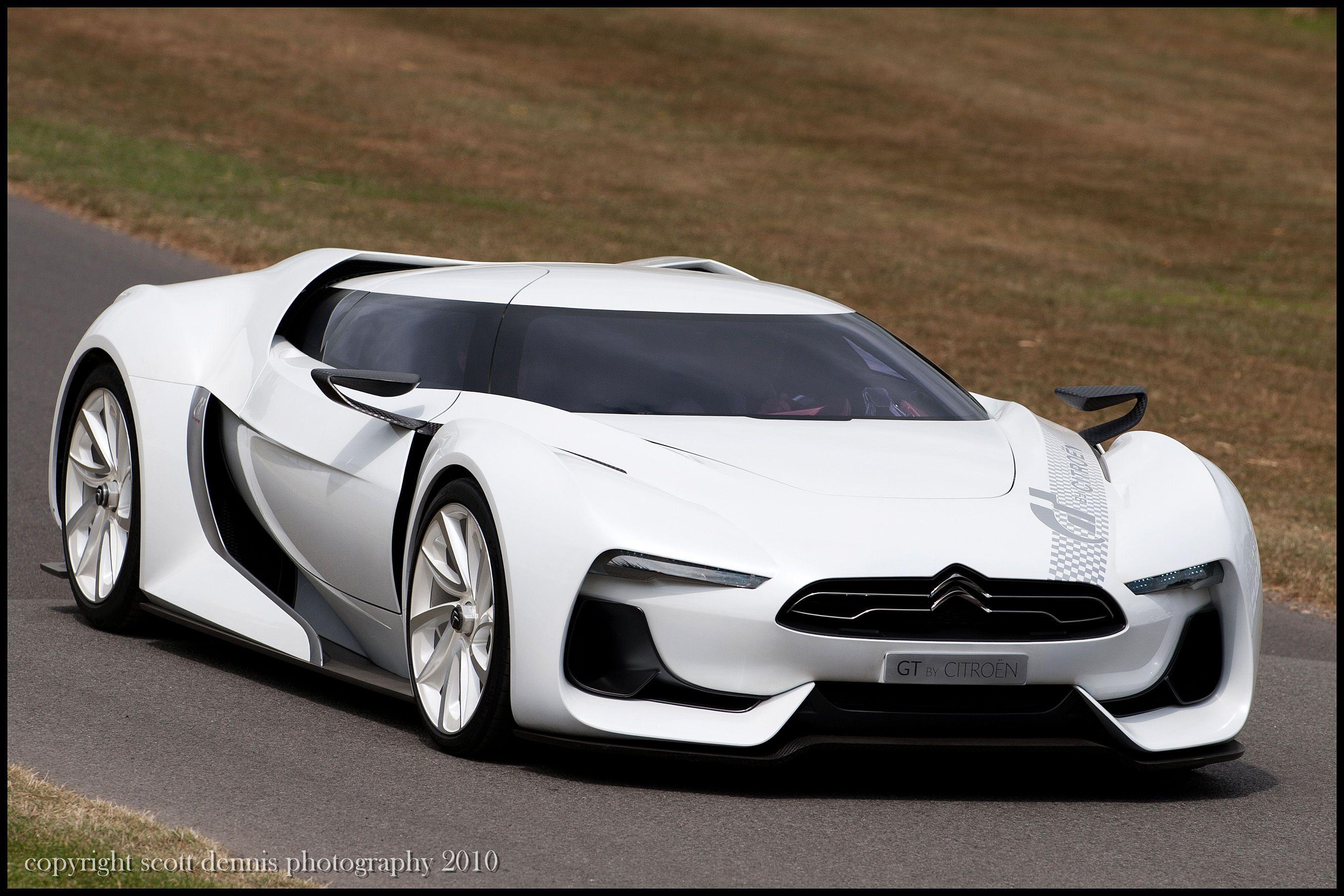 Citroen Gt Concept Futuristic Sporty Designed For Gran Turismo 5