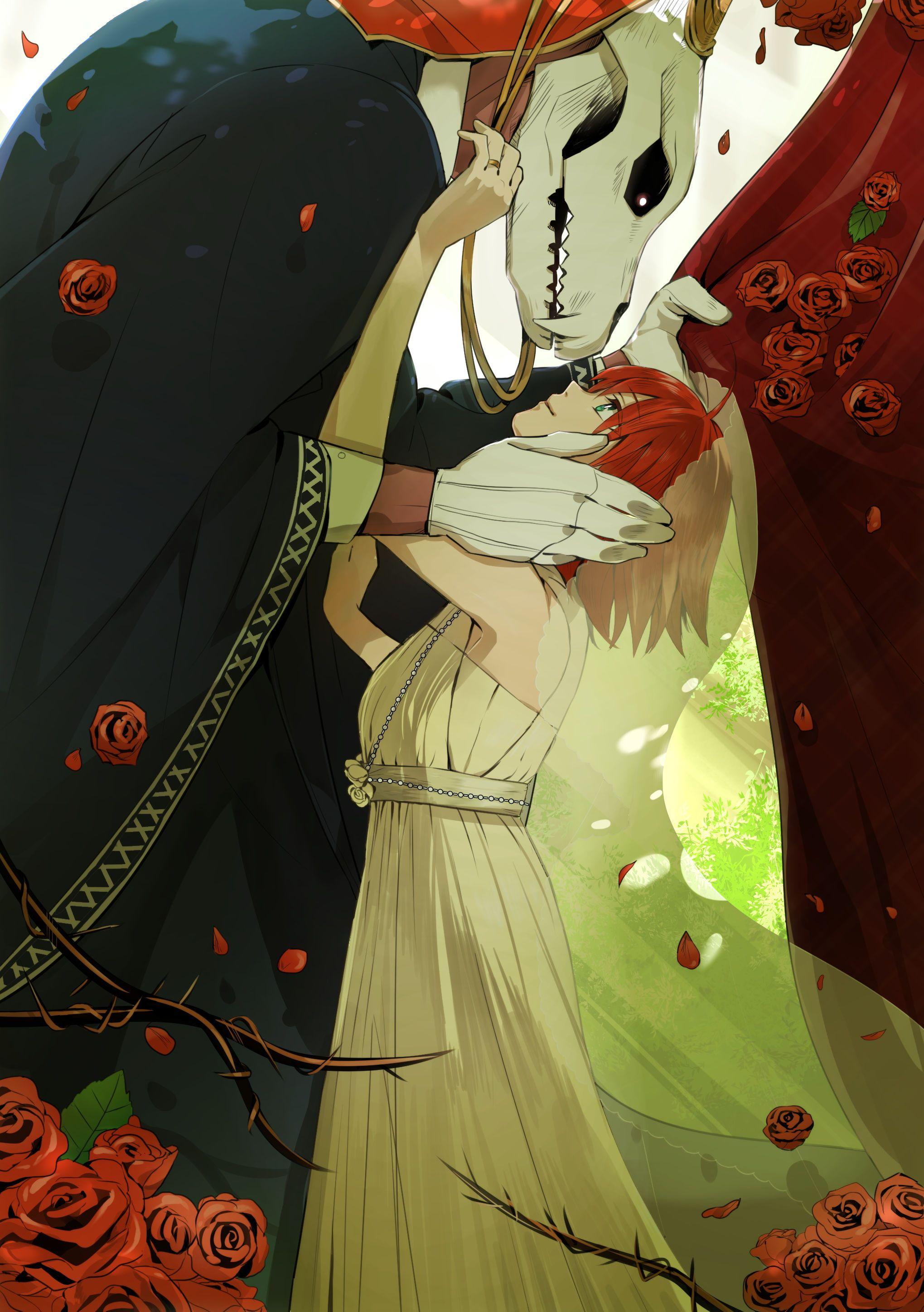 Mahoutsukai No Yome Anime Girls Hatori Chise Elias Ainsworth 2k