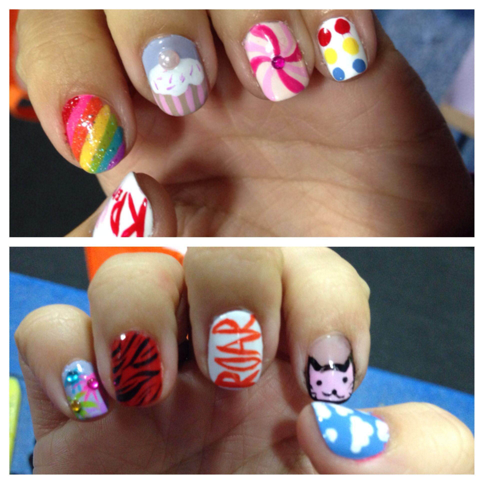 Katy Perry inspired nail art   Nail It!   Pinterest   Katy perry