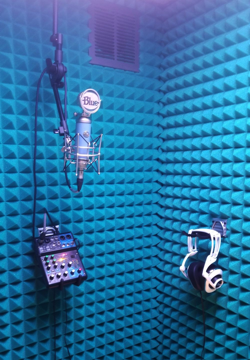 Heil Ceiling Mount Mic Boom — VocalBooth.com