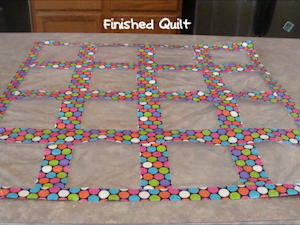 DYI Duct Tape Baggie Quilt - used to display work....but this website has TONS of DYI crafts and manipulatives for the classroom... or even a fun way to make journals out of a gift bag...  Classroom DIY    This would be cool to put a get to know you for each student in :)