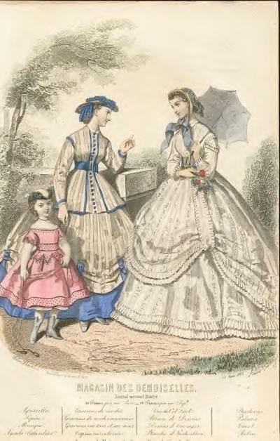 1864 civil war fashion skirt risers