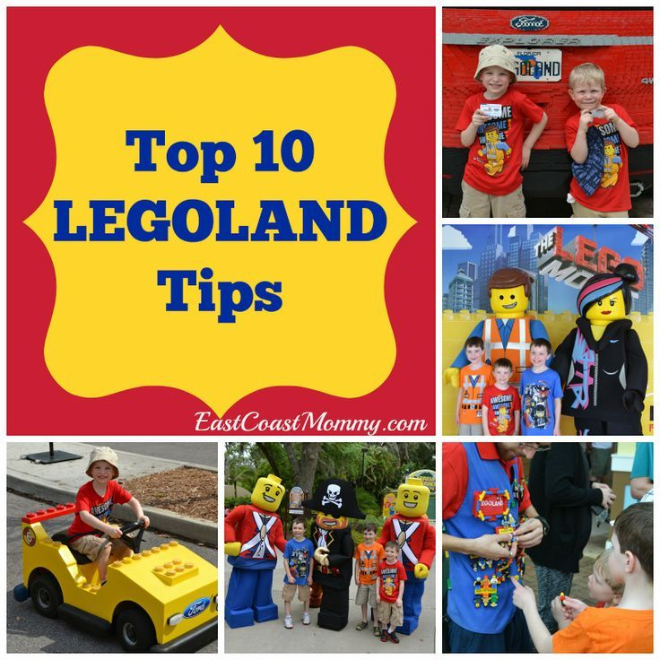 Top 10 Legoland Tips Legoland Legoland Florida Legoland California