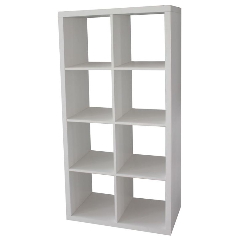 Clever Cube 2 X 4 White Storage Unit Cube Storage White Storage Cube Storage Shelves
