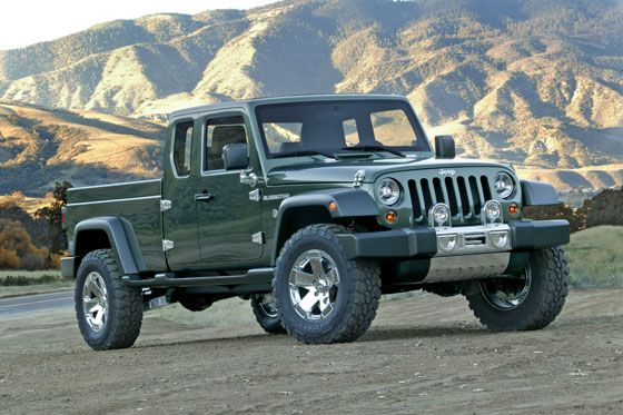 More Talk Of A Jeep Pickup In The Pipeline Jeep Gladiator Jeep