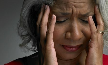 What causes numbness on one side of a person's face?