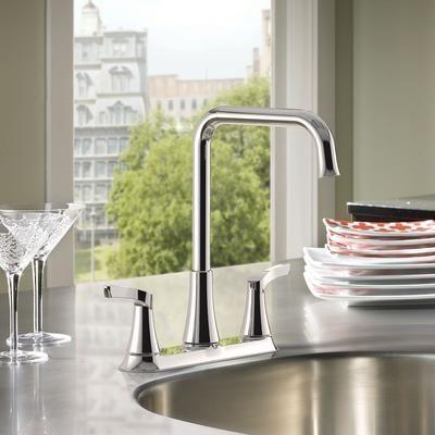 Moen  Danika 2 Handle Kitchen Faucet  Chrome Finish  87633 Magnificent Design My Kitchen Home Depot Design Decoration