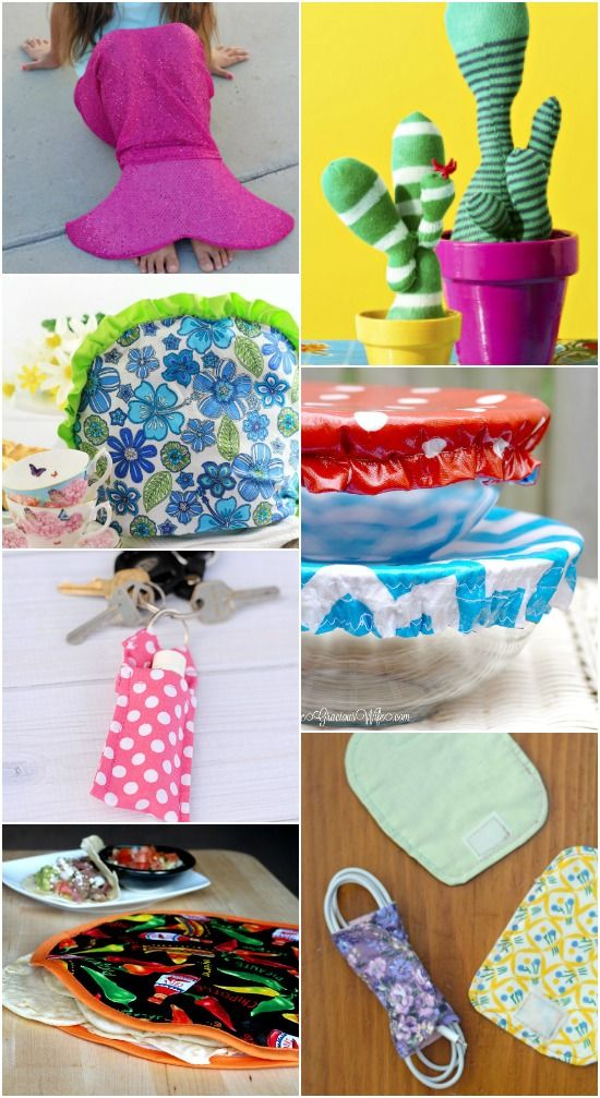 56 Quick And Easy Sewing Projects For Beginners If You Re New To Or Just Need A Project P The Time Try These Cute Fun An