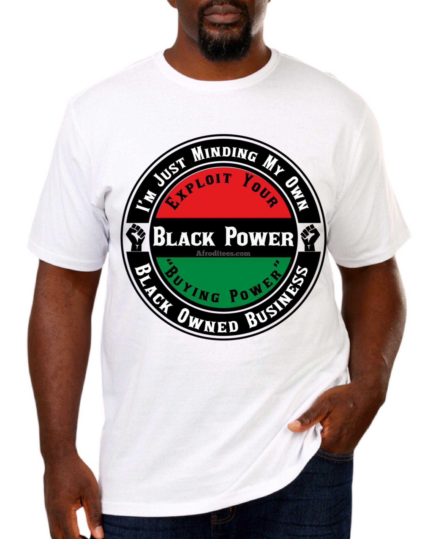 Black business owner black business mens tops mens tshirts