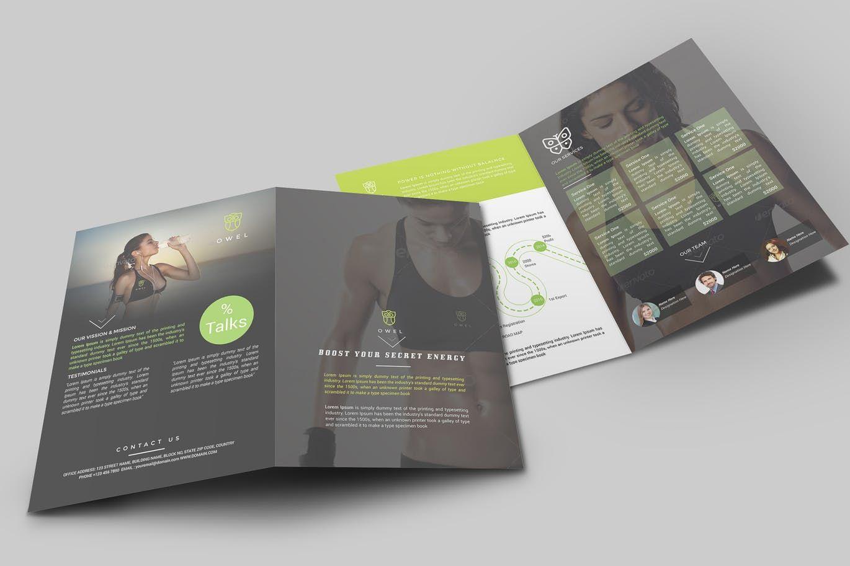 Brochure by designsmill on Envato Elements   GRAPH   Pinterest ...