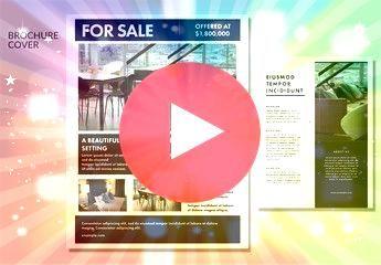 Estate Property Flyer Layout Real Estate Property Flyer Layout  Du bietest an Verkürze mit diesen sieben zur im deine gestalterische eins Lade die Dateien für u...