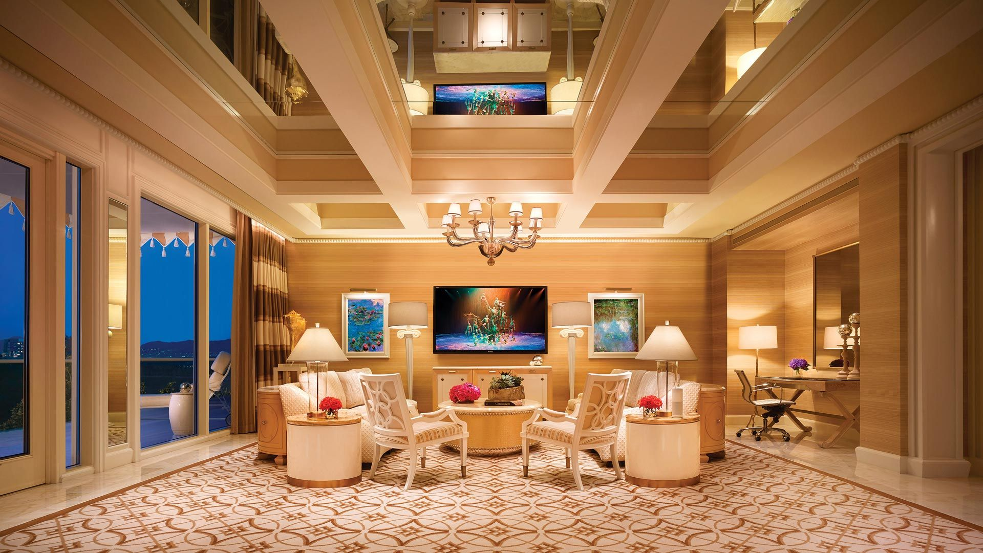 Wynn Fairway Villa Las Vegas Luxury Hotels Luxury Hotel Room
