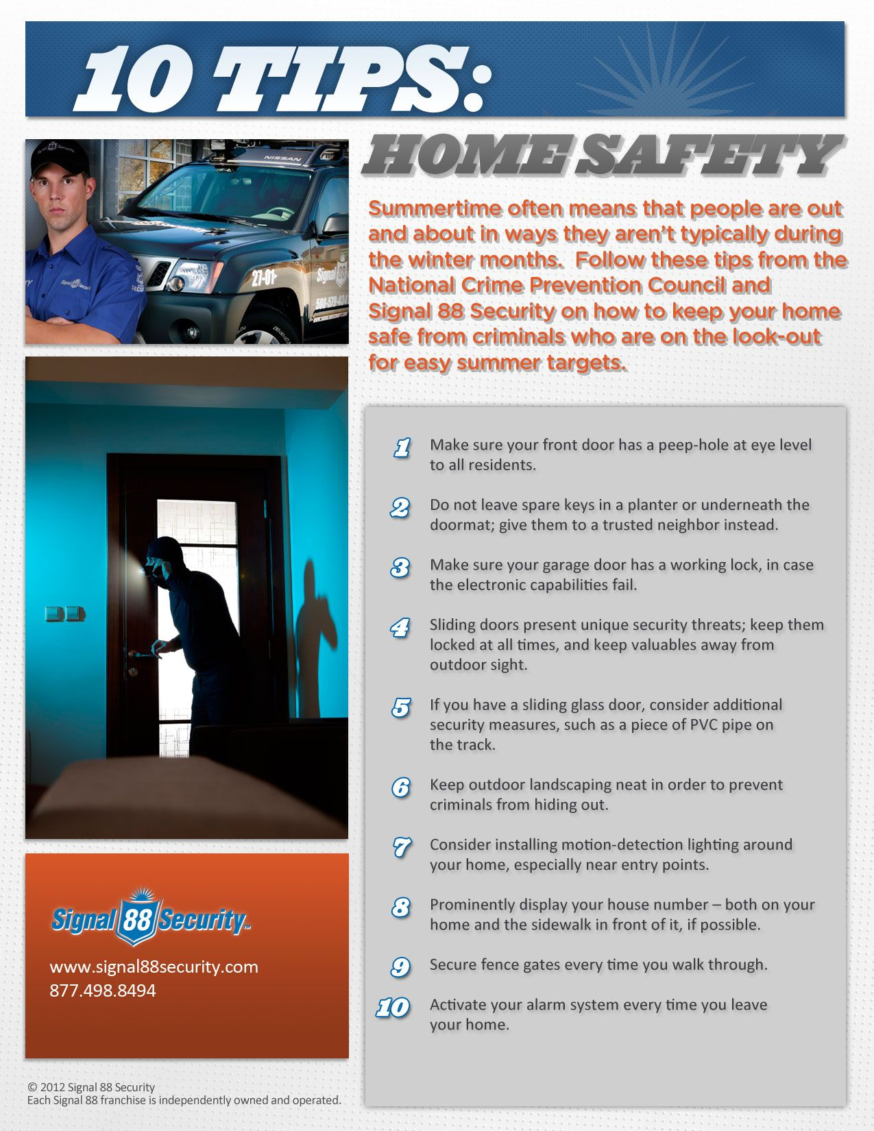 10 Tips Home Safety Home Safety Tips Home Safety Safety Tips