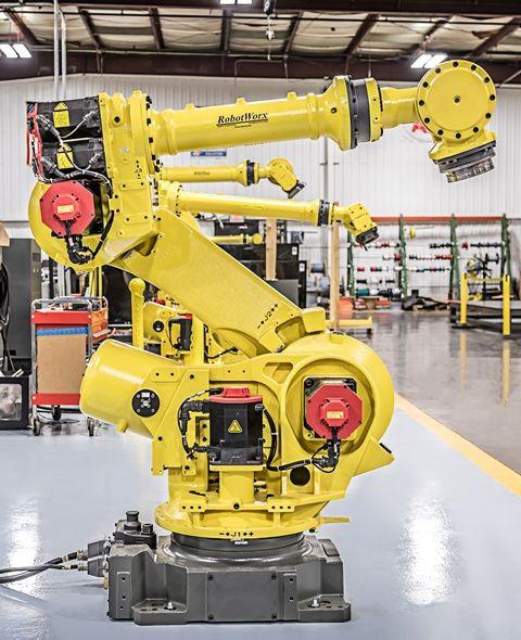 FANUC R-2000iA/210F RJ3iB | FANUC Robots | Industrial robots, Fanuc