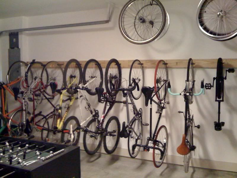 Multiple bike rack inside the house Page 2 Bike rack