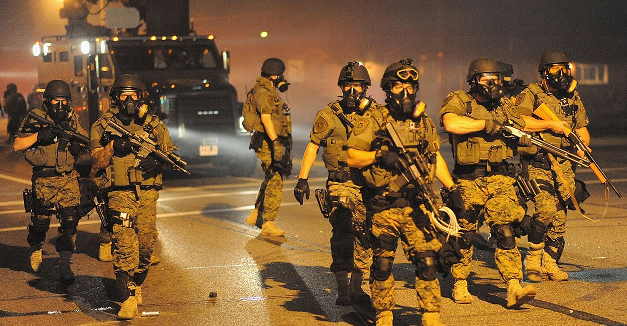 Q&A Is It Legal to Use the National Guard in Ferguson