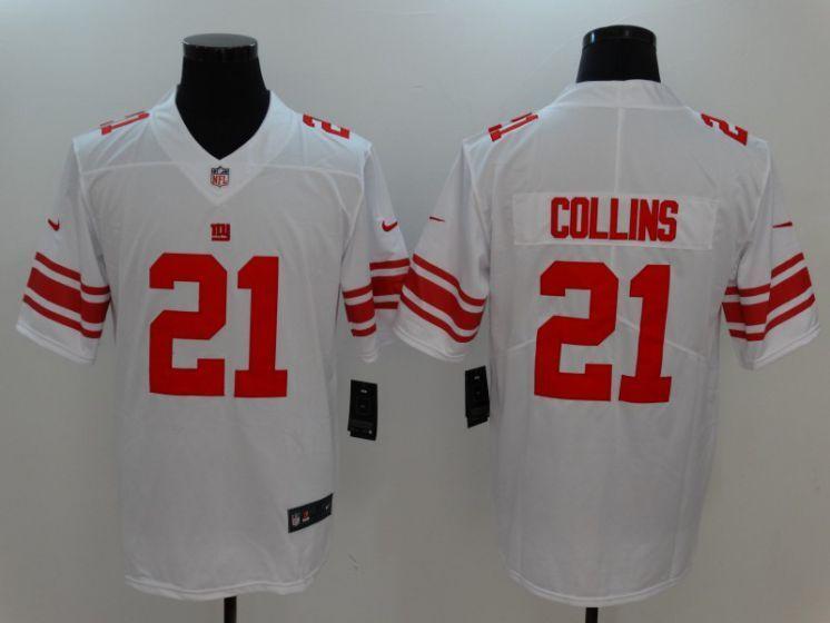 59683905614 Men New York Giants 21 Collins White Nike Vapor Untouchable Limited NFL  Jerseys