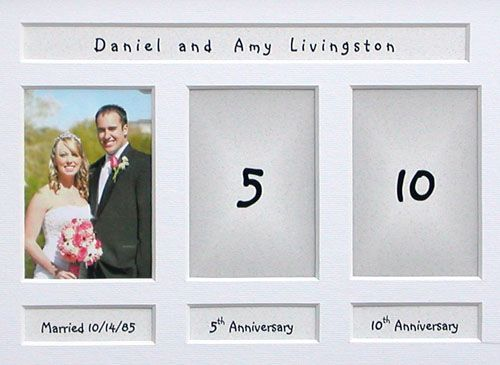 Wedding Gift Wedding Anniversary Photos Anniversary Frame 8th Wedding Anniversary Gift