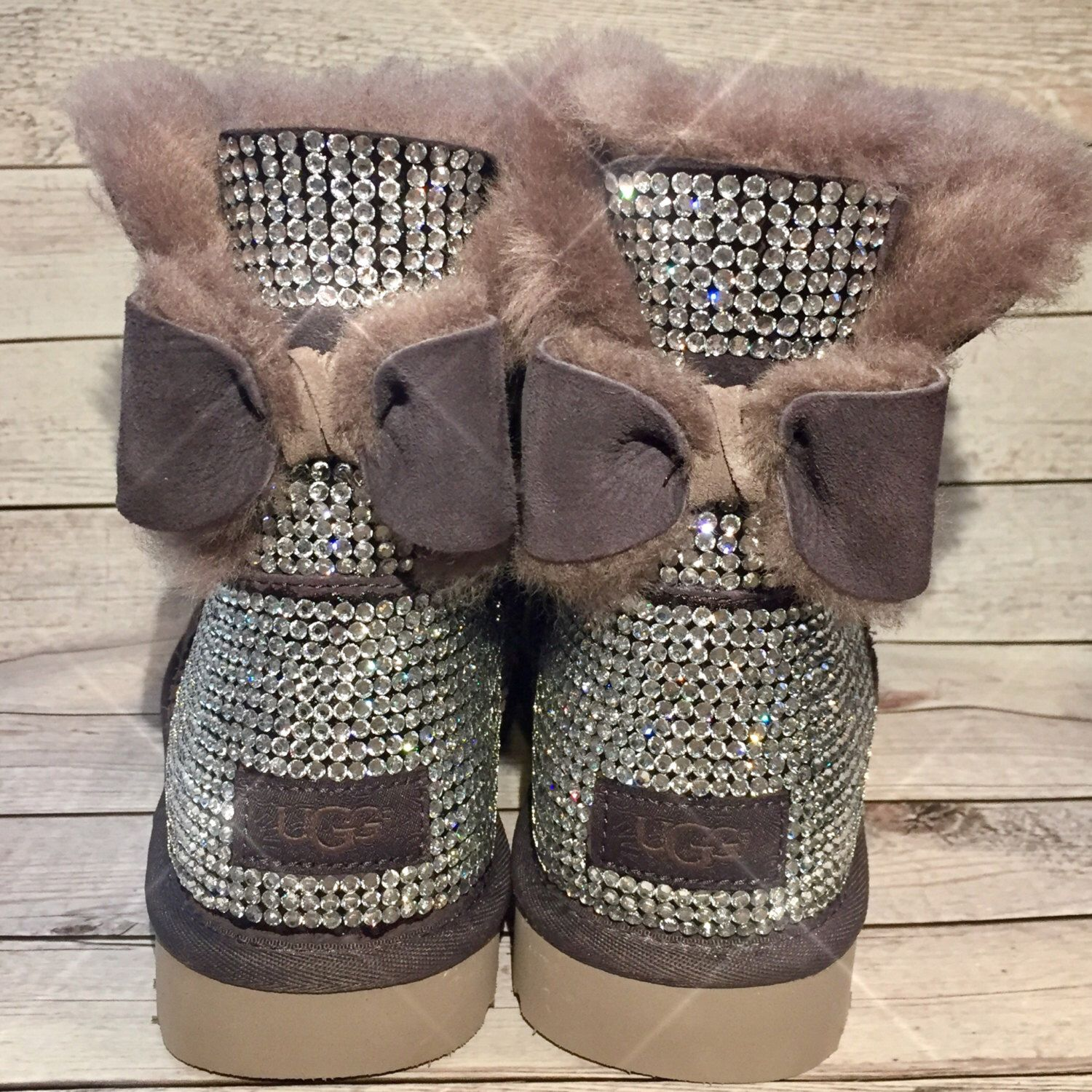 Bling UGG boots - crystal UGG boots - sparkly uggs - womans ugg boots - custom