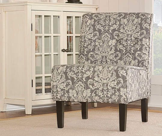 Big Lots Accent Chairsscript Armless Chair: Gray Damask Armless Accent Chair