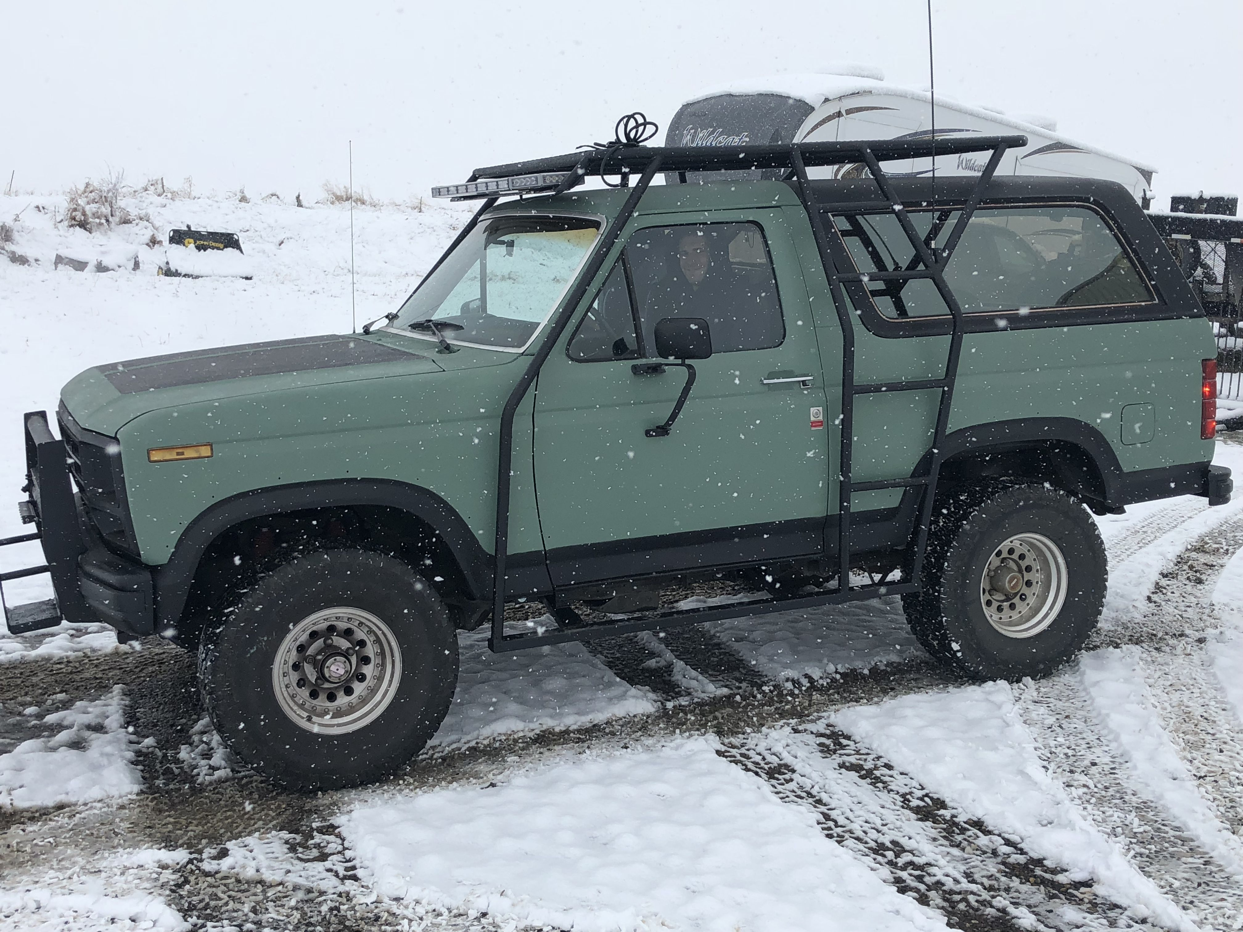 small resolution of ford bronco roof rack