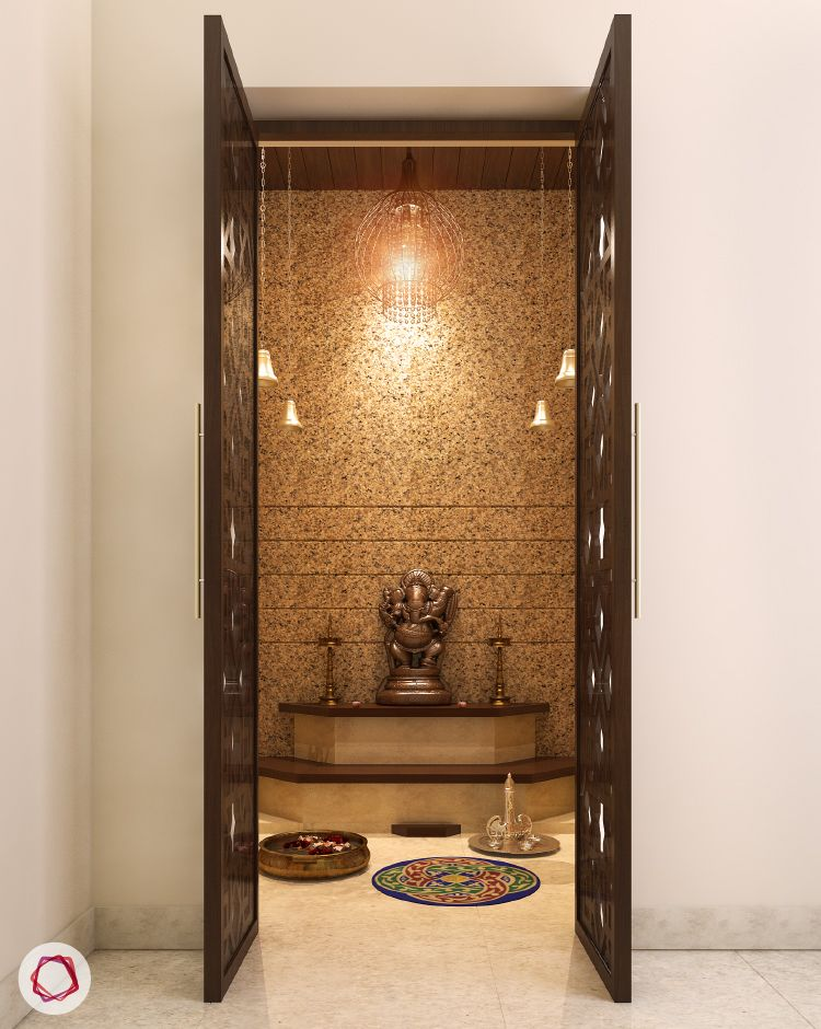 40 Door Design For Mandir Important Ideas: Temple Design For Home, Pooja Room Design
