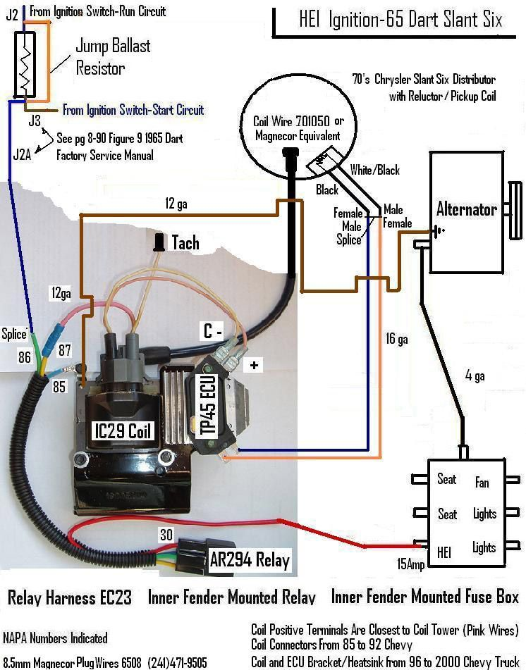 Chevy Ignition Coil Distributor Wiring Diagram in addition Diagram